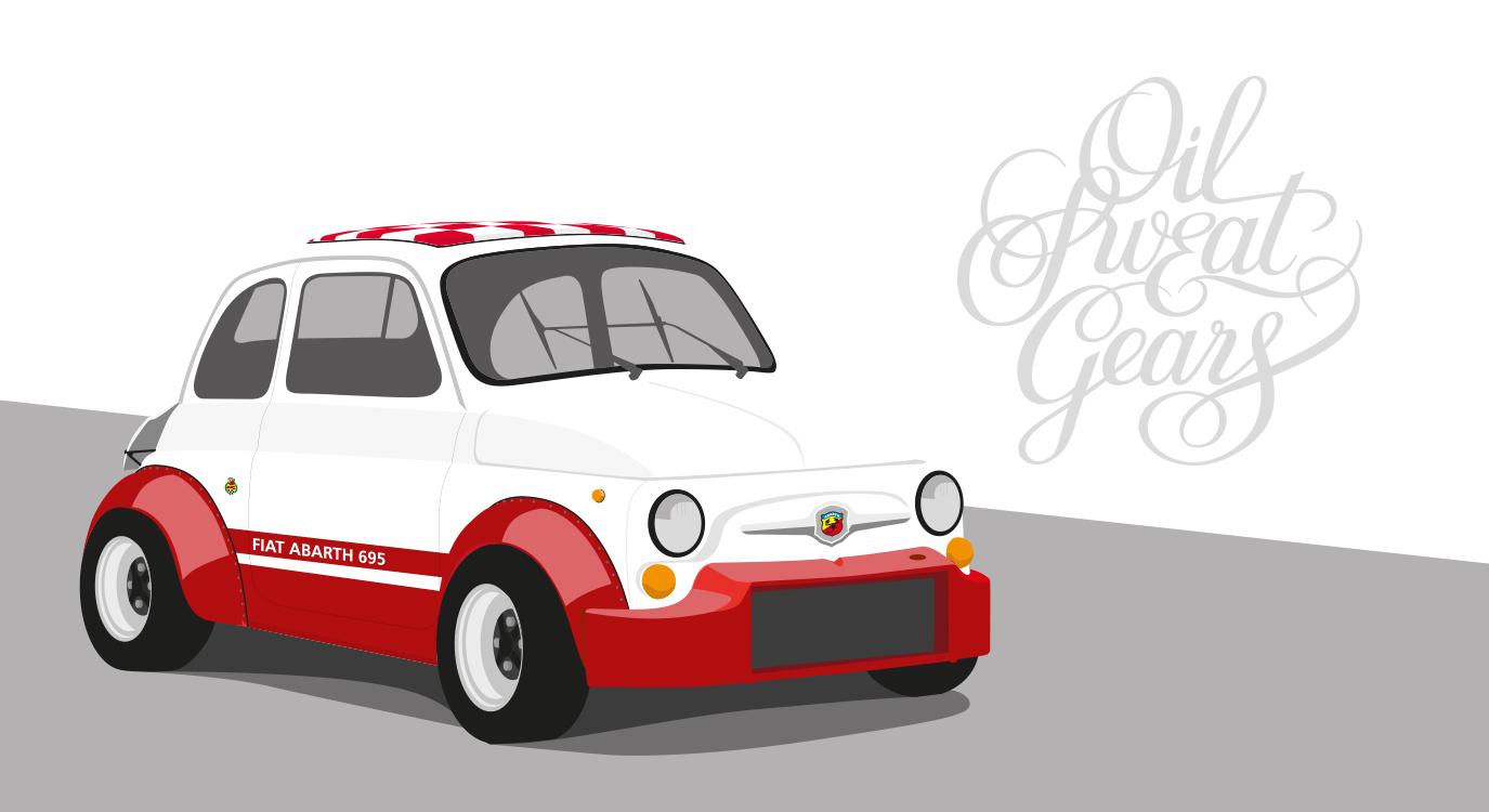 Fiat 500 Hotrod